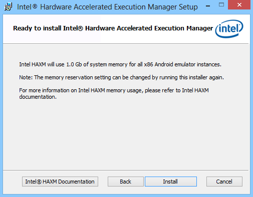 Use Intel HAXM Hardware acceleration to drastically speed up your
