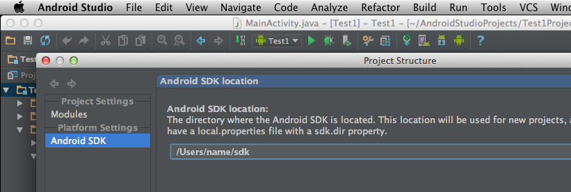 Make Eclipse and Android Studio play nice with the same